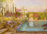 The swimming pool, Dyffryn