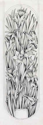 Botanical designs for boxes - lid